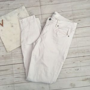 5/$25 dynamite womens 28 white kate jeans denim dy